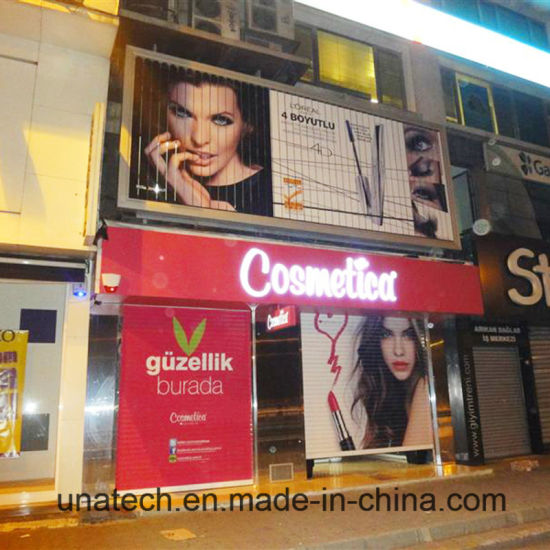 Large Size Outdoor Shop Market Advertising Polymeric Vinyl Prisma Tri-Vision Billboard pictures & photos