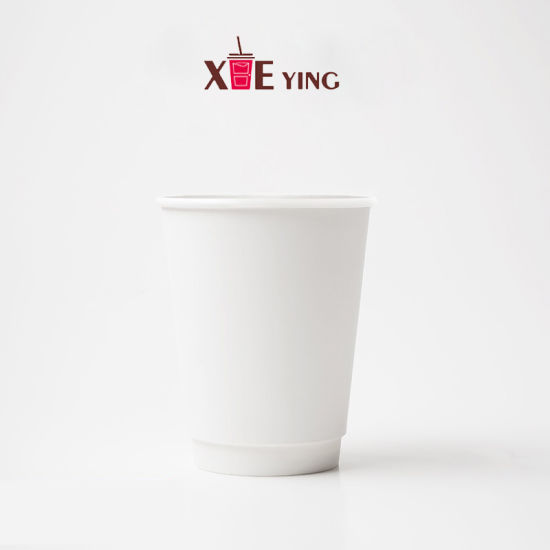 China White 8oz 10oz 12oz 16oz Paper Cup Factory Directly