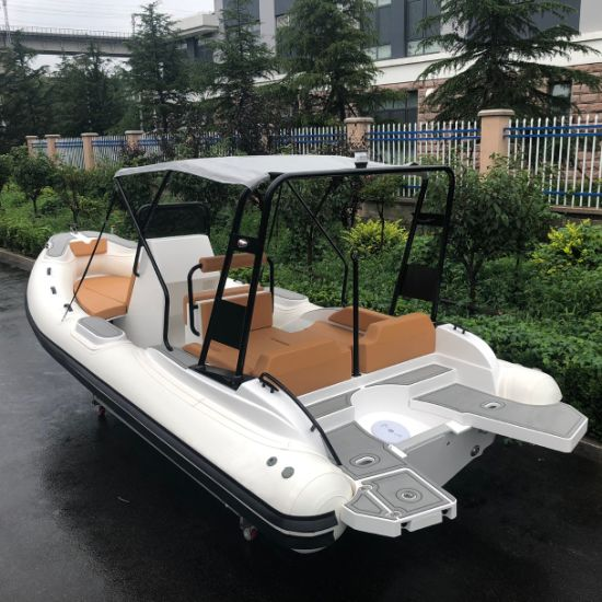 Liya 22 Feet Rib Hypalon Inflatable Boat for Sale