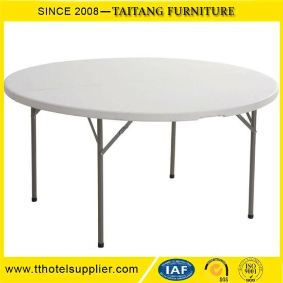 High Quality Restaurant Wedding Banquet Plastic Folding Table