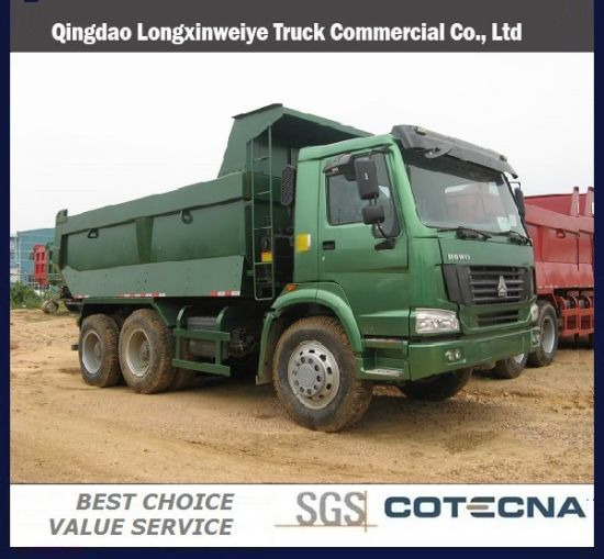 Sinotruk HOWO 6X4 50ton Dump Truck
