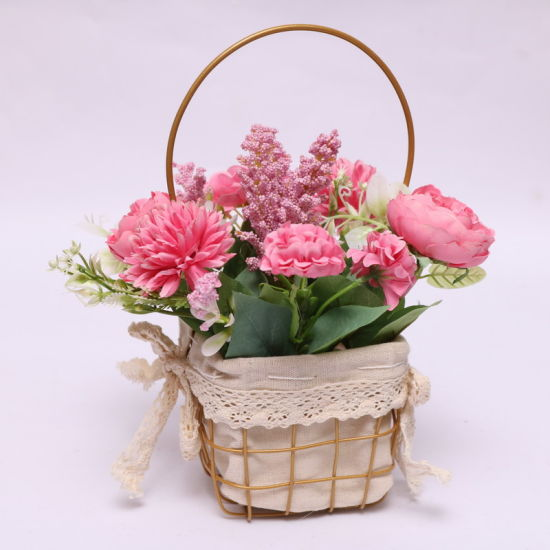 New Design Artificial Flower Decorate Home Ornament