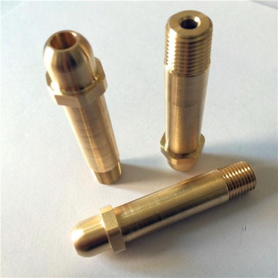Brass Shaft CNC Machined Parts
