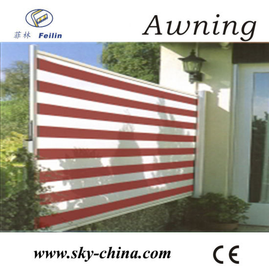 Retractable Side Awning For Office Screen (B700)