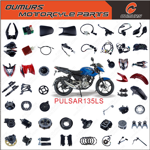 High Quality Motorcycle Part Side Cover for Bajaj Pulsar 135