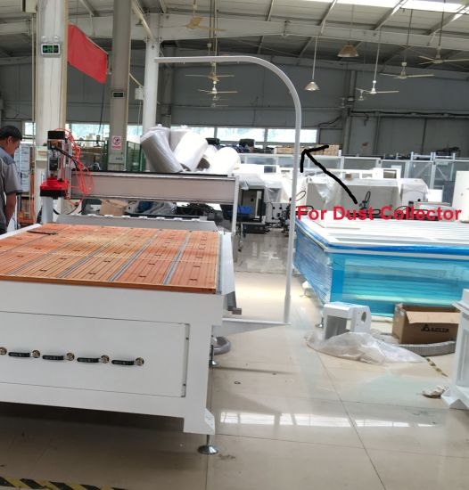 CNC Router with 3D Rotary Axis (Dia.: 400mm, Length: 2500mm) pictures & photos