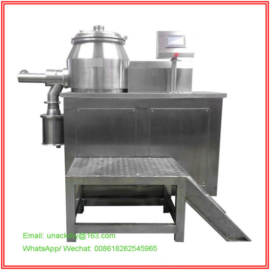 High Speed Mixing Granulator/Granulating Machine/ Pellet Mill/ Pelletizer for Tablet Production Prepare pictures & photos