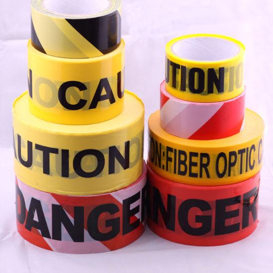 Non Adhesive PE Warning Tape Caution Tape Barricade Tape