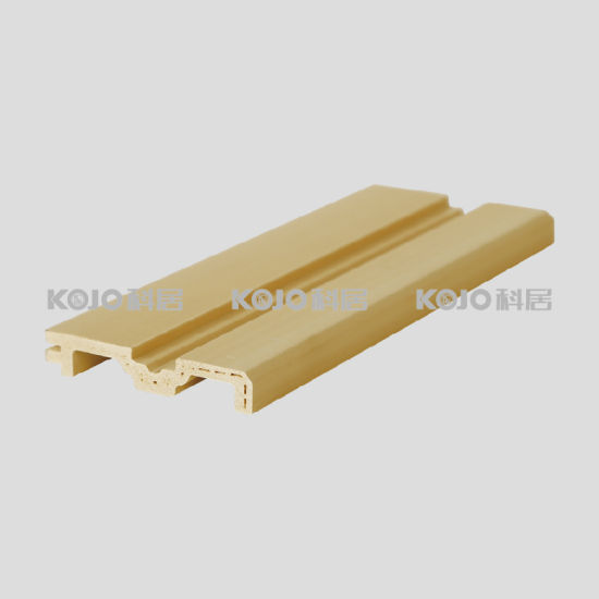 Flooring Accessory PVC Covered WPC Skirting with High Strength (VK-T3A) pictures & photos