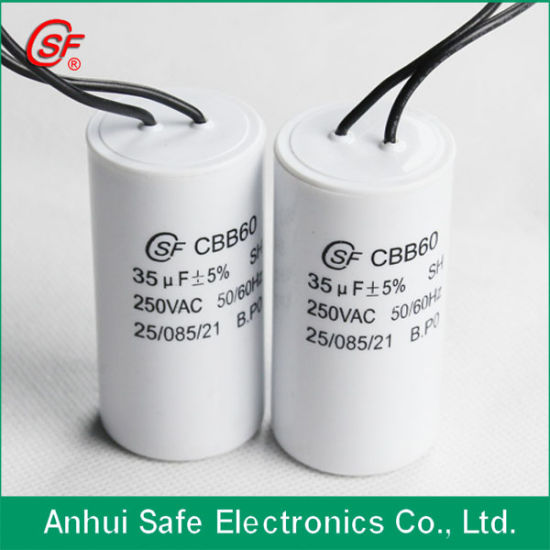 Cbb60 Sh Metallized Capacitor with Approval