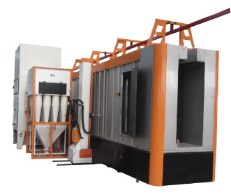 Multi Cyclone Powder Coating Spray Booth pictures & photos