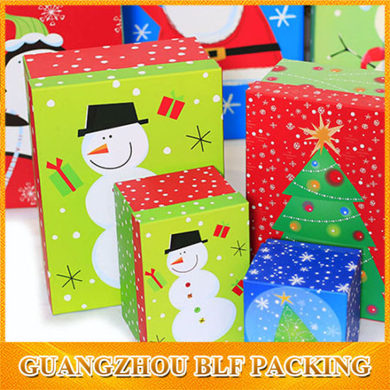 decorative christmas gift box lids