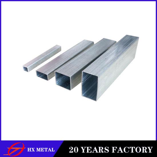 SA 179 Carbon Steel Rectangular Galvanized Square Steel Pipe