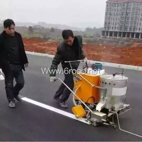 Pushed Thermoplastic Road Marking Machine pictures & photos