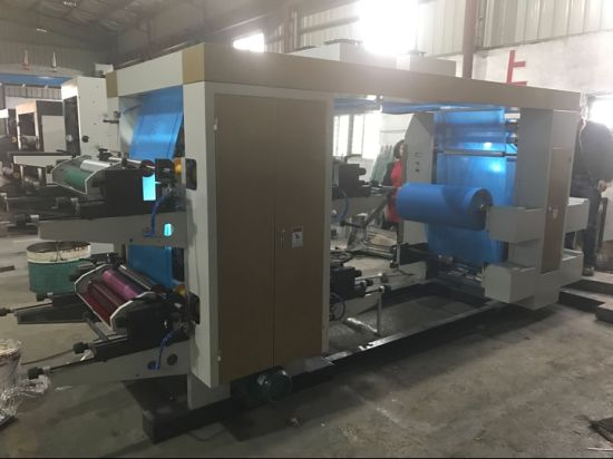 6 Color Stack Printing Machine for Non Woven Roll (NX-61400) pictures & photos