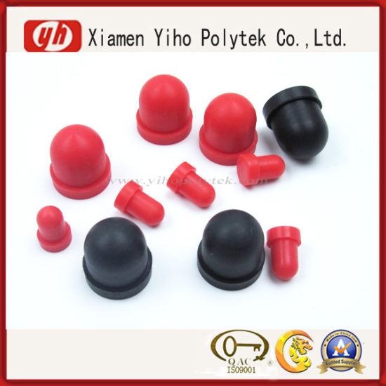 ISO9001, RoHS High Quality Soft Silicone Rubber Cap