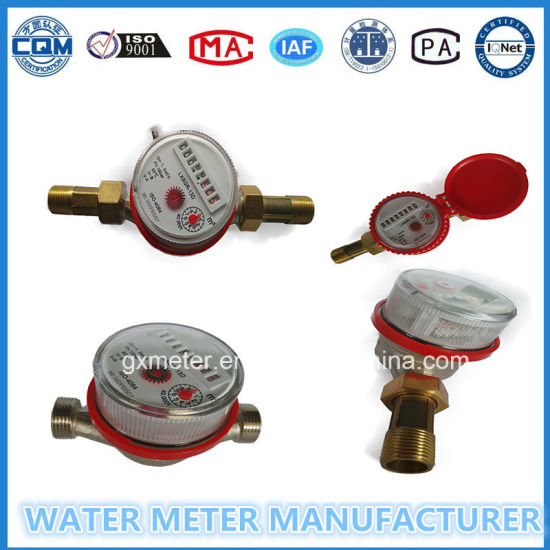 Single Jet Water Meter for Russian Market