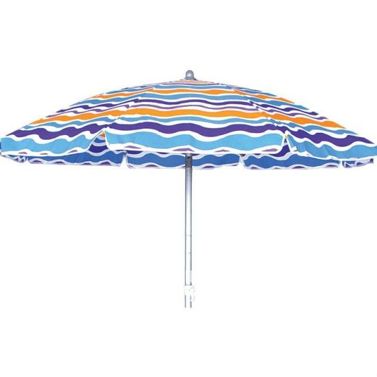 Polyester Beach Umbrella with Various Style Available,