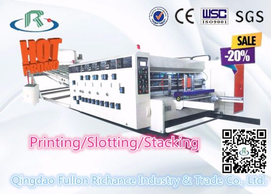 China Semi-Automatic Carton Box Making Machine Price - China