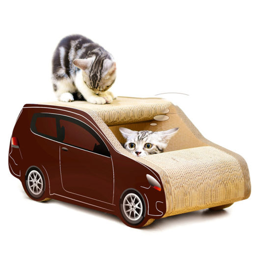 SUV Car Shaped Corrugated Cat Cat Scratching Board Cat Grinding Claw Toy Cat Pet Supplies
