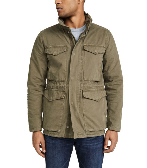 Wholesale Custom High Quality Hot Sale Outdoor Man Army Utility Cotton Canvas Military Jackets Fashion Mens Jackets