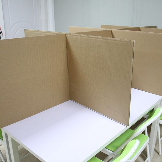 Wholesale Custom Office Corrugated Cardboard Divider Protection Paperboard Partition