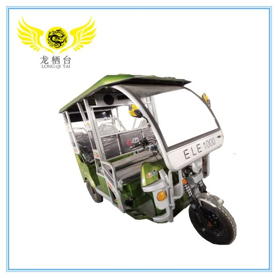 2020 Most Popular Electric Auto Rickshaw Tricycle Vehicle Tuk Tuk for 6 Passenger