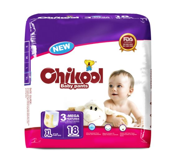 2020disposable Pull on up Baby Diaper Training Pants with Discard Tape