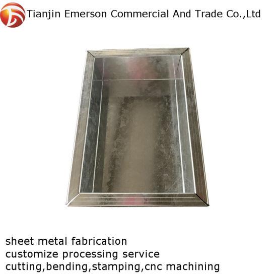 Custom Steel Stamping Deep Drawn Sheet Metal Fabrication Parts