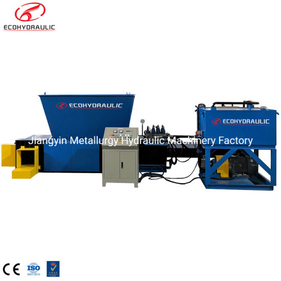 Y81t-160PTZ Customized Automatic Aluminum Cans Shavings Baling Press Machine