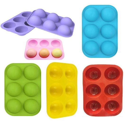 Food Grade Standard Half Ball Shape Silicone Ice Tray