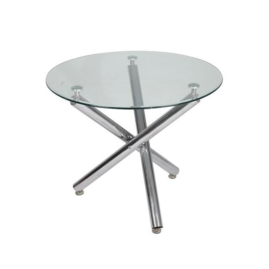 Modern Luxury Design Tempered Glass Dining Table