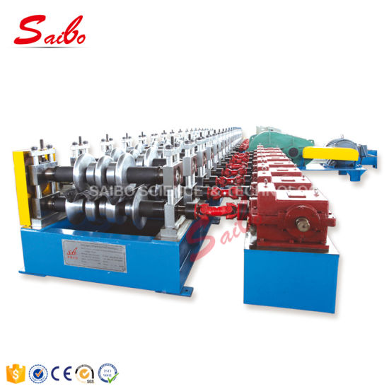 3 Waves Guide Rail Roll Forming Machinery