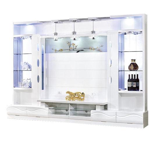Modern Design Living Room TV Wall Units Wooden TV Cabinet