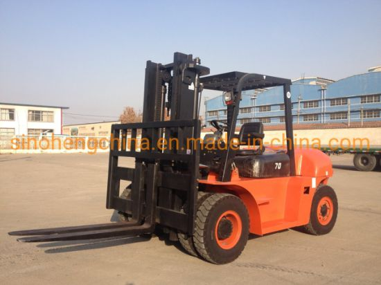 6 Ton Diesel Forklift Truck with Good Quality Cpcd60