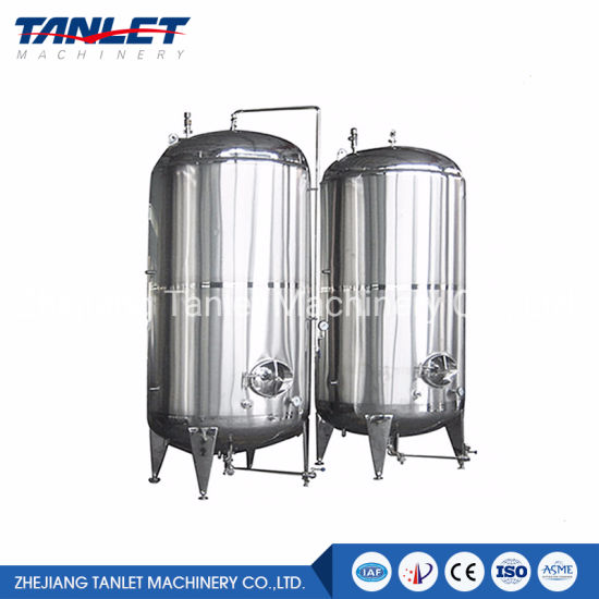 Stainless Steel Vertical Olive Oil Storage Tank