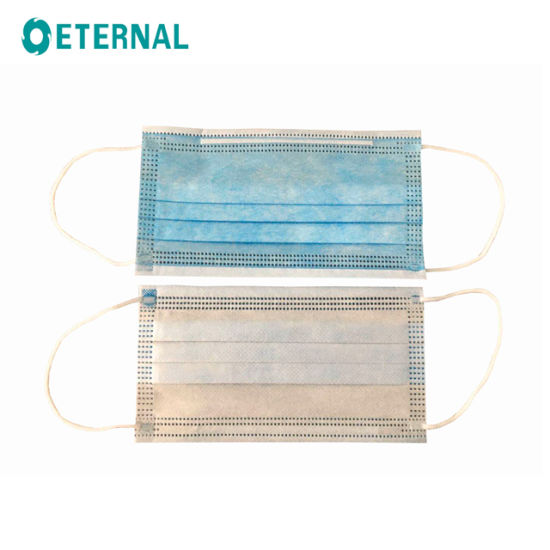 3-Ply, Non-Woven, with Ear Loop Face Mask