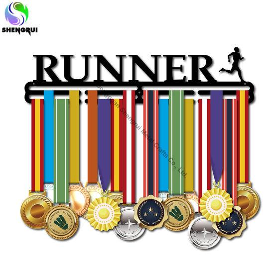 Customized Metal Medal Hanger for Running Sport Medal Holder