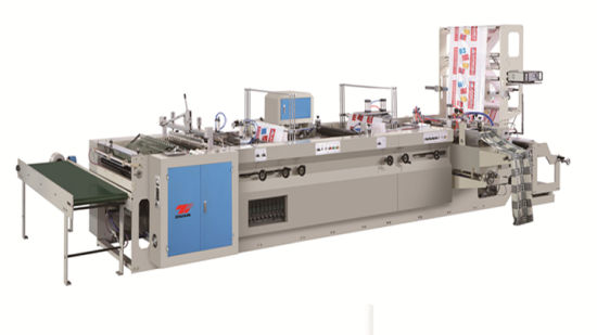 Zhuxin New Soft Loop Handle Patch handle Bag Making Machine