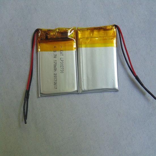 Ewt 3.7V Lithium Cell 10-200mAh Polymer Battery for Power Supply
