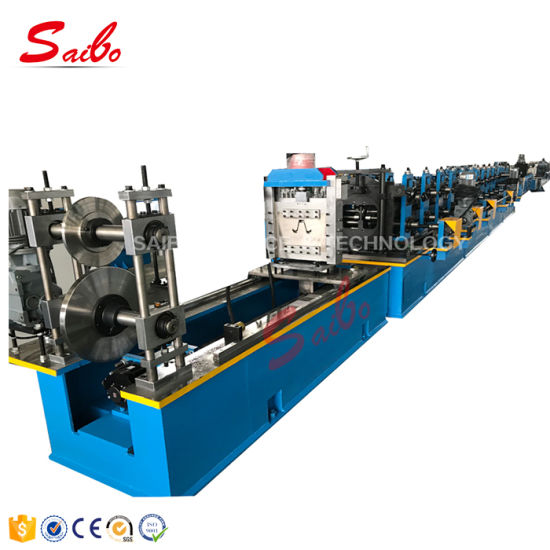 Omega High Speed Roll Forming Make Machine with Hydraulic Decoiler