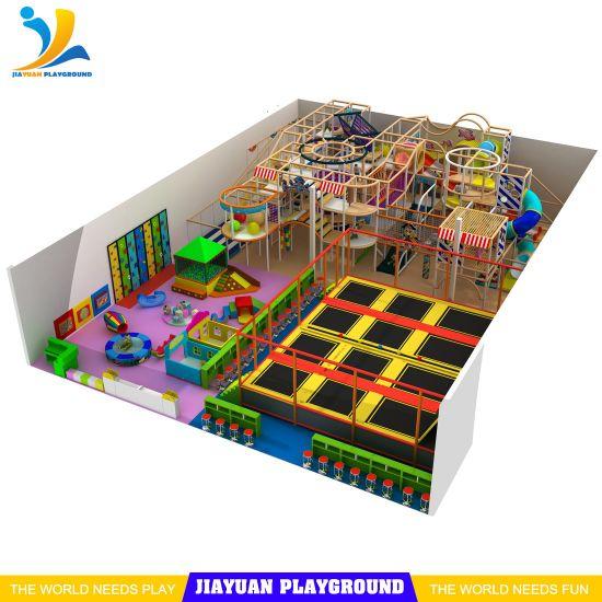 Indoor Playgrounds Directly From Manufacturers, Children Trampoline Park Equipmnet