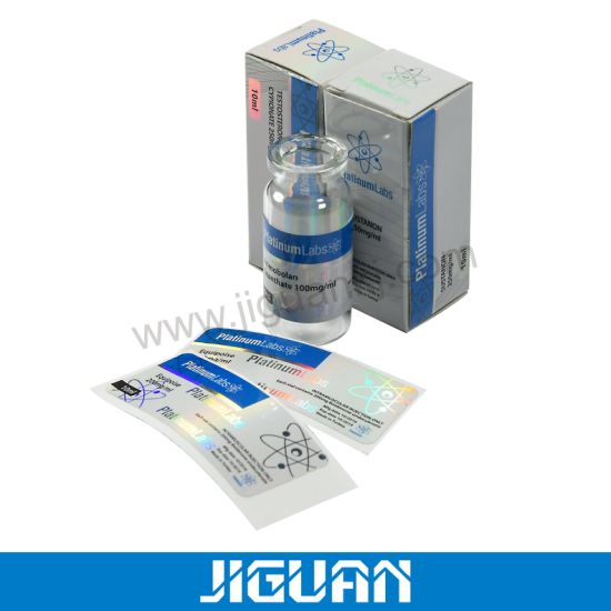Steroid Bottle Glass Vial with Flip off Cap 10ml