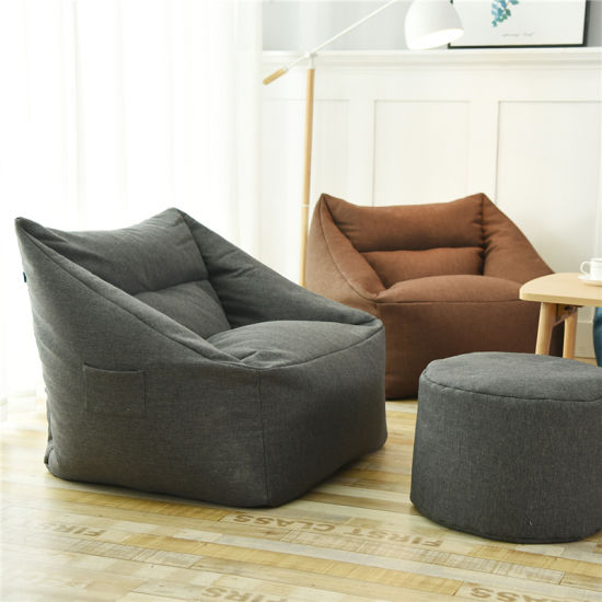 Indoor Beanbag Sofas Chairs For Living Room Use China Indoor Beanbag Beanbag Chair Made In China Com