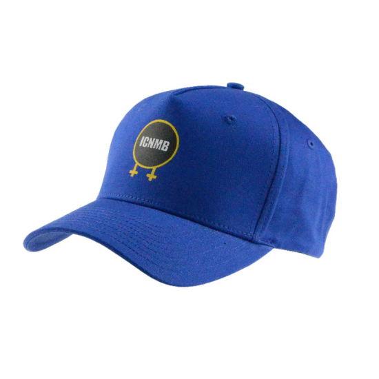 Custom Cotton Visor Cap High Quality 5 Panel Blue Print Cap Summer Sports Baseball Cap Fashion Man Hat