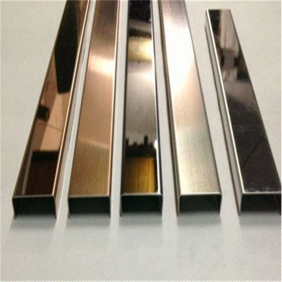 China Metal Trim Black Satin Electroplated Stainless Steel