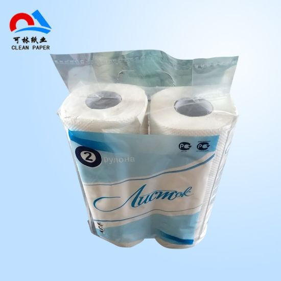 Embossing Absorbent Water Kitchen Paper Towels Double Rolls