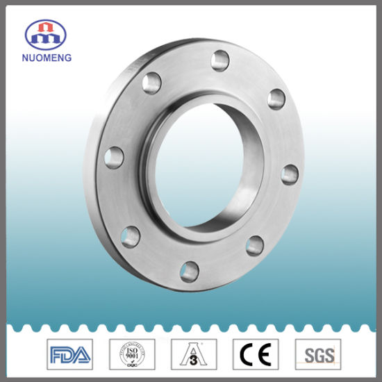 Sanitary Stainless Steel SS304/316L Weld Flange