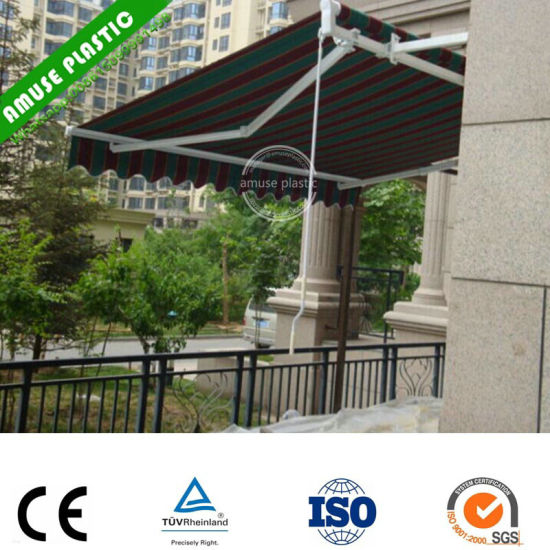 China Outdoor Modern Cloth Fabric Deck Patio Covers Awnings Design
