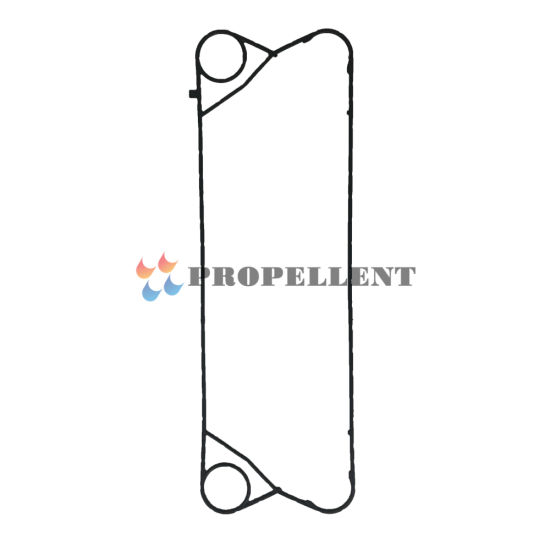Equal with Gea Model Rubber Seal Gasket Plate Heat Exchanger Gea, Apv